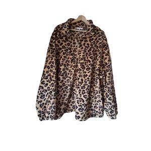 🤑Amaryllis Leopard Super Soft Lady Sweater 3XL